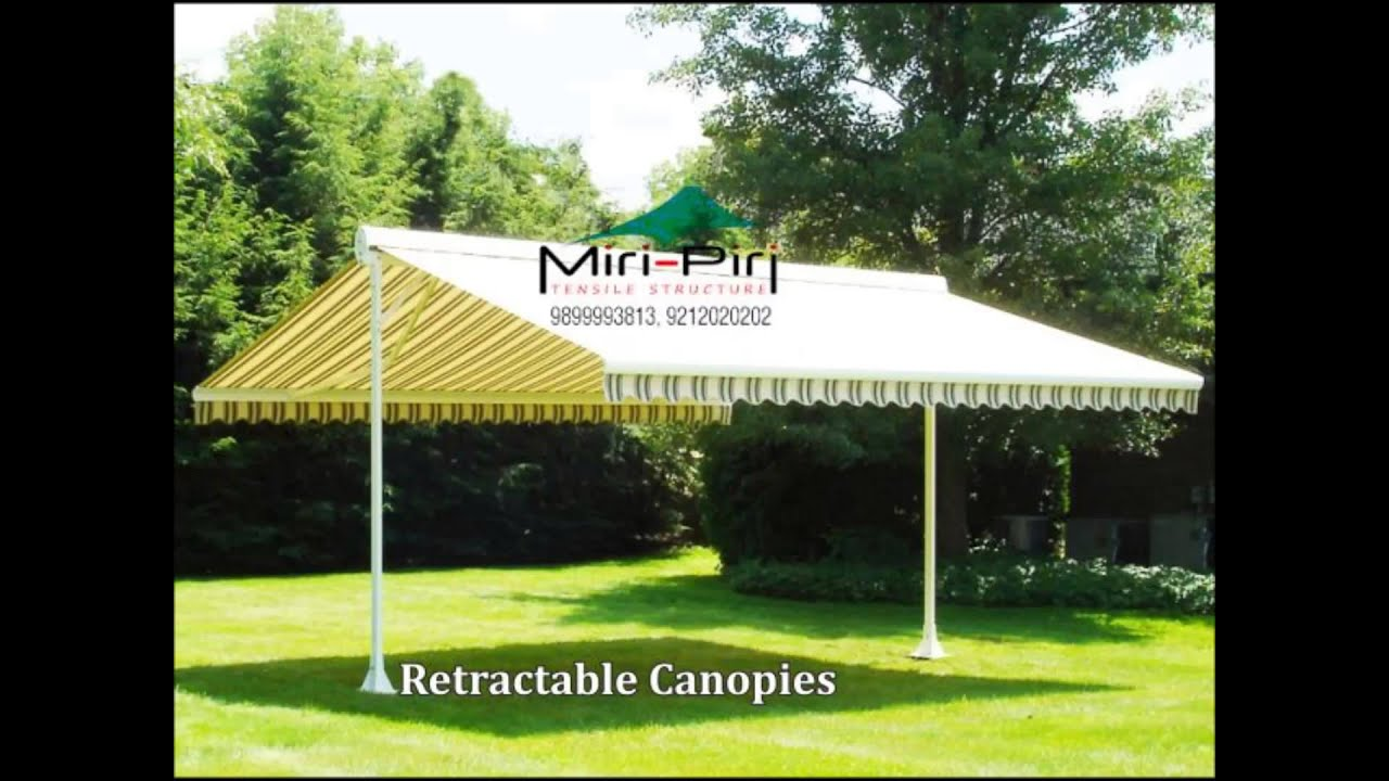 Canopies Manufacturers - Car Parking Entrance Awning Tensile Roofing Promotional Delhi - YouTube & Canopies Manufacturers - Car Parking Entrance Awning Tensile ...