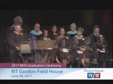 2017 Pittsford Mendon High School Graduation Ceremony