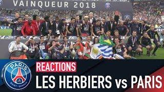 REACTIONS : LA JOIE DES PARISIENS !