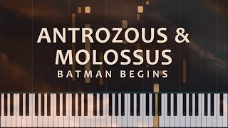 Antrozous and Molossus: Batman Begins - Hans Zimmer and James Newton Howard (Piano Solo + Tutorial)