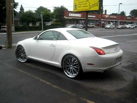 Pearl White Lexus Sc430 On Staggered 22 S Sexy Lexy