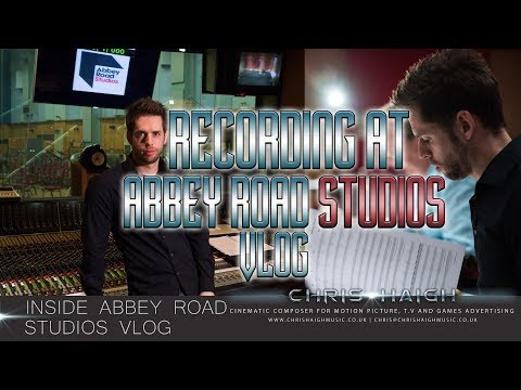 RECORDING AT ABBEY ROAD STUDIOS - Chris Haigh Vlog | Inside Abbey Road Studios London |