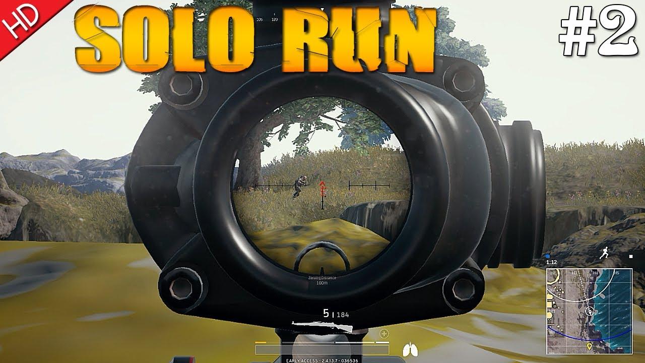 Pubg Hd Gameplay: Playerunknown's Battlegrounds (PUBG) Solo Run #2 (HD) PC