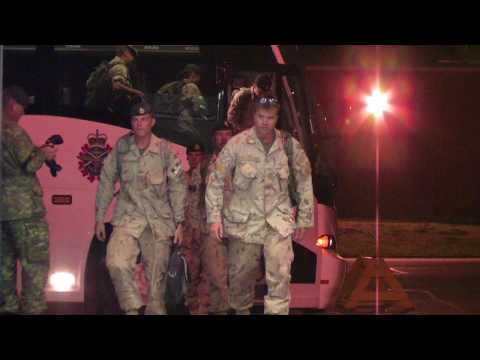 Canadian soldiers come home from Afghanistan