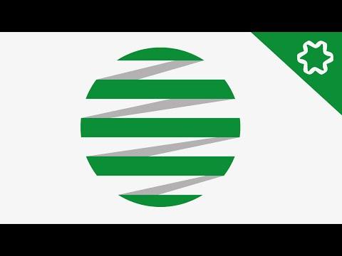 Circle Global Logo Design Tutorial Circular Logo Adobe