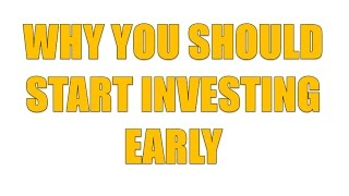 How to get rich Start Investing early: Cost of waiting Money Minute