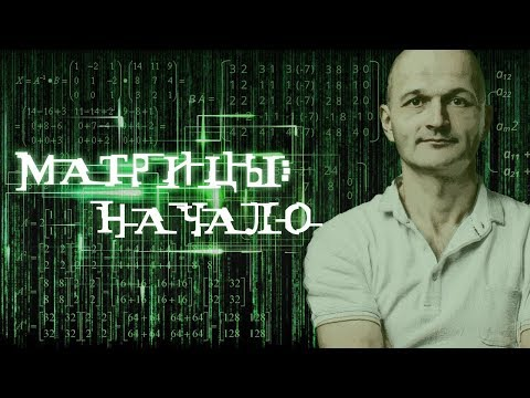 Матрицы: начало. Высшая математика