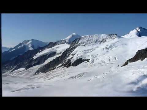Jungfraujoch - Sphinx (3454m - 3571m, Berner Alpen) - Kanton Bern und Wallis, Schweiz