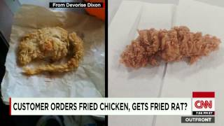 WTF! KFC Serves Man Fried Rat Instead Of Fried Chicken?