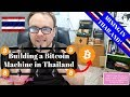 Bitcoin mining in Thailand - mining Cryptocurrency - building a mining rig