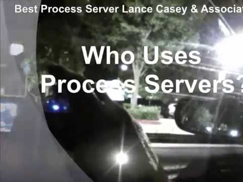 Who Uses Process Servers? Lance Casey & Associates