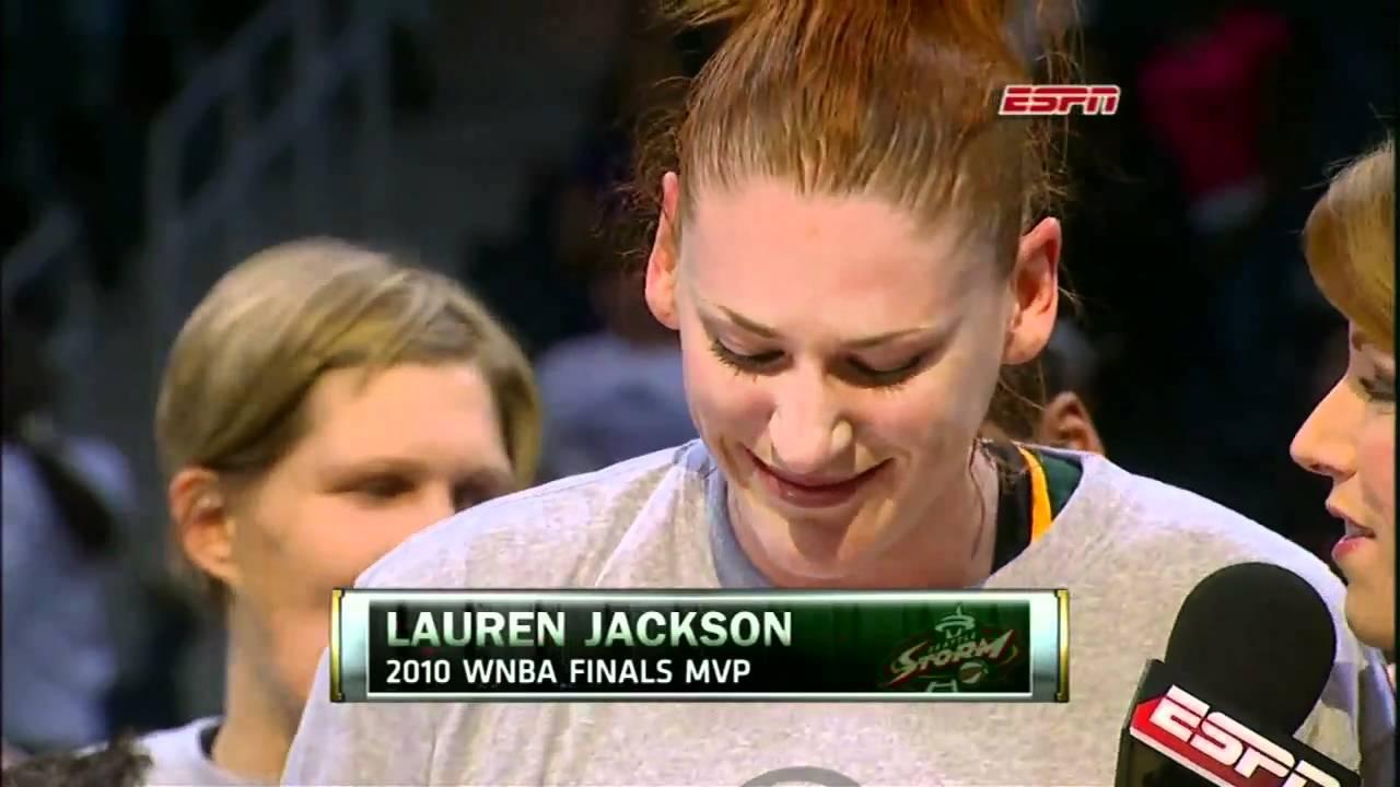 Lauren Jackson - 2010 WNBA Final's MVP - YouTube