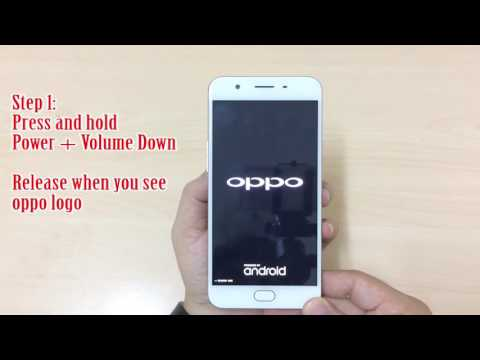 Hard reset oppo F1s (A1601) remove password