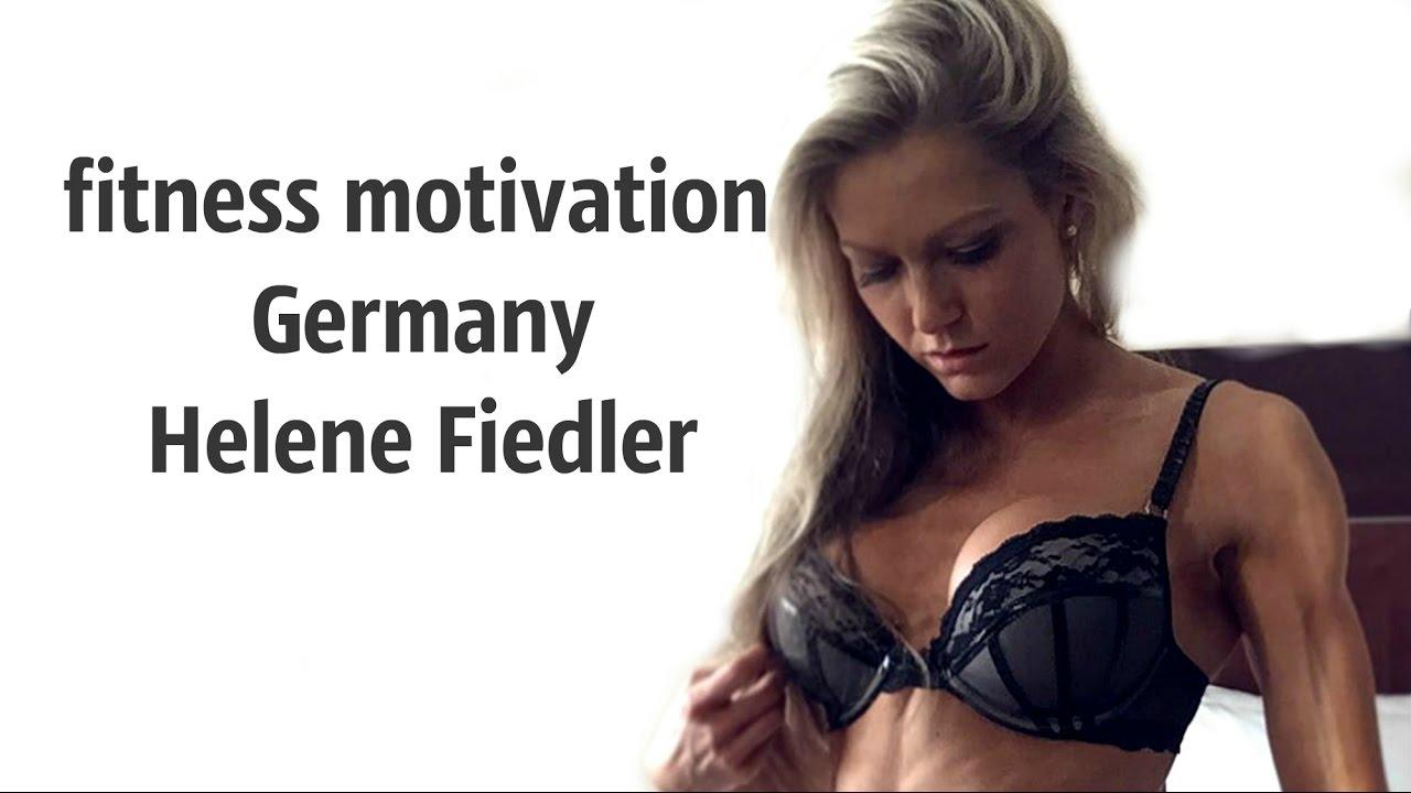 female fitness  workout Germany - Helene Fiedler