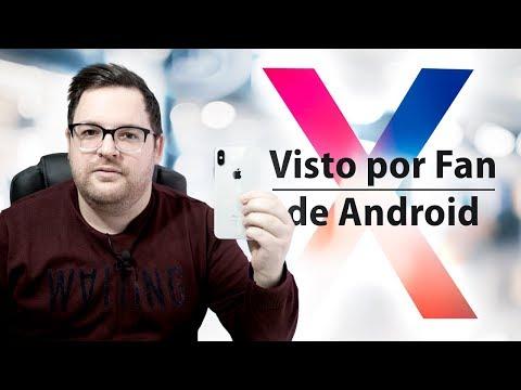 iPhone X, visto por fan de Android