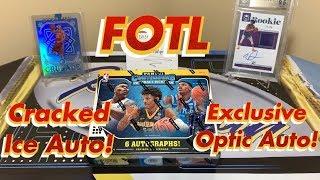 2019-20 Panini Contenders Draft Picks Basketball FOTL Hobby Box Break - Cracked Ice Auto!
