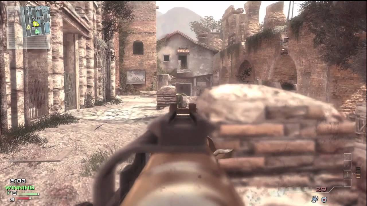 Mw3 Face Off Playlisterosion Free Map Gameplayface Off Tactics