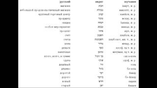 ★★★★★Иврит с нуля. Уроки иврита. В Магазине, покупки, шоппи+нг.