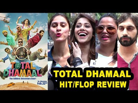 TOTAL DHAMAAL movie Hit/ Flop Honest Review By Public -Ajay Devgn,Madhuri,Anil Kapoor,Arshad Warsi