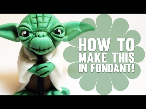 How To Make Yoda From Star Wars Cake Decorating Tutorial