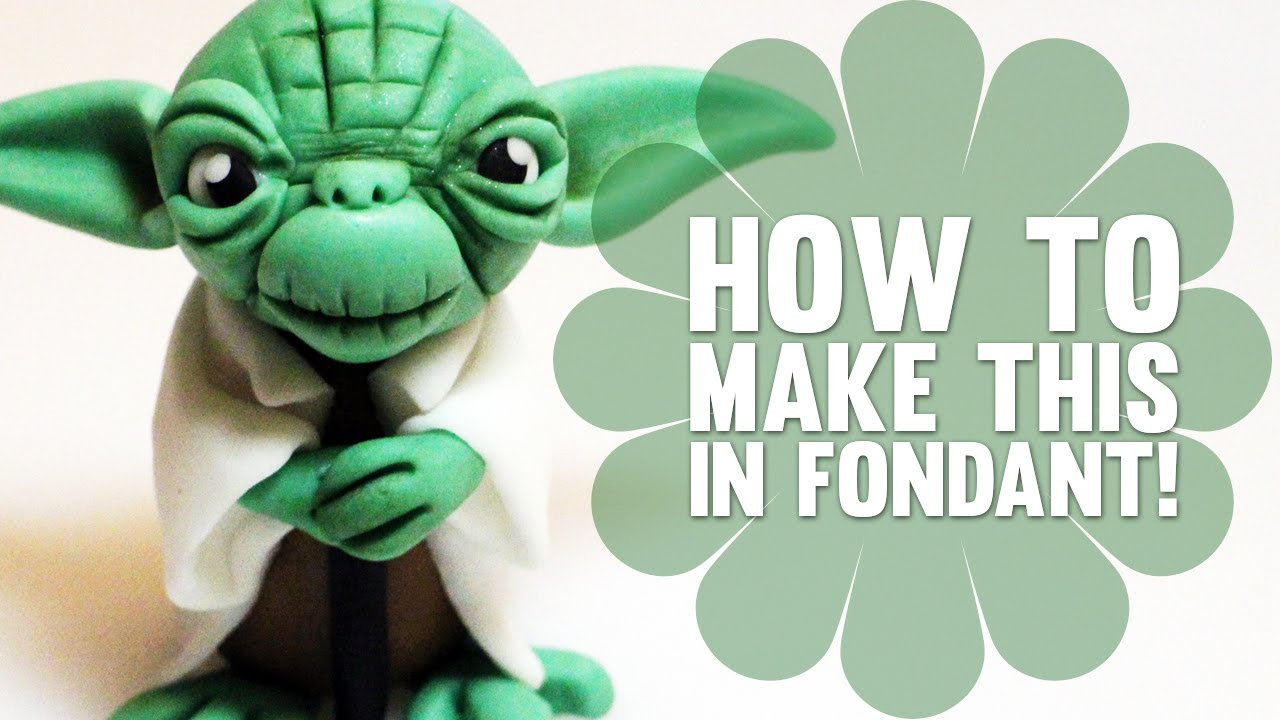How To Make Yoda Cake Topper