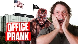 SCARE PRANK: Boogeyman at WWE Headquarters!