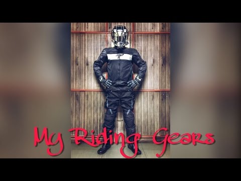 My Riding Gears and Accessories | CBR250R | SOL | Cramster | Tarmac | Rynox | Dirtsack