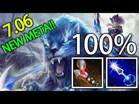 Atos + Arrow 100% Mirana Gameplay by Crit of Team EG Dota 2