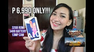 SAMSUNG GALAXY A10 - UNBOXING & FULL REVIEW (ML,PUBG,CAMERA,HEATING AND BATTERY)