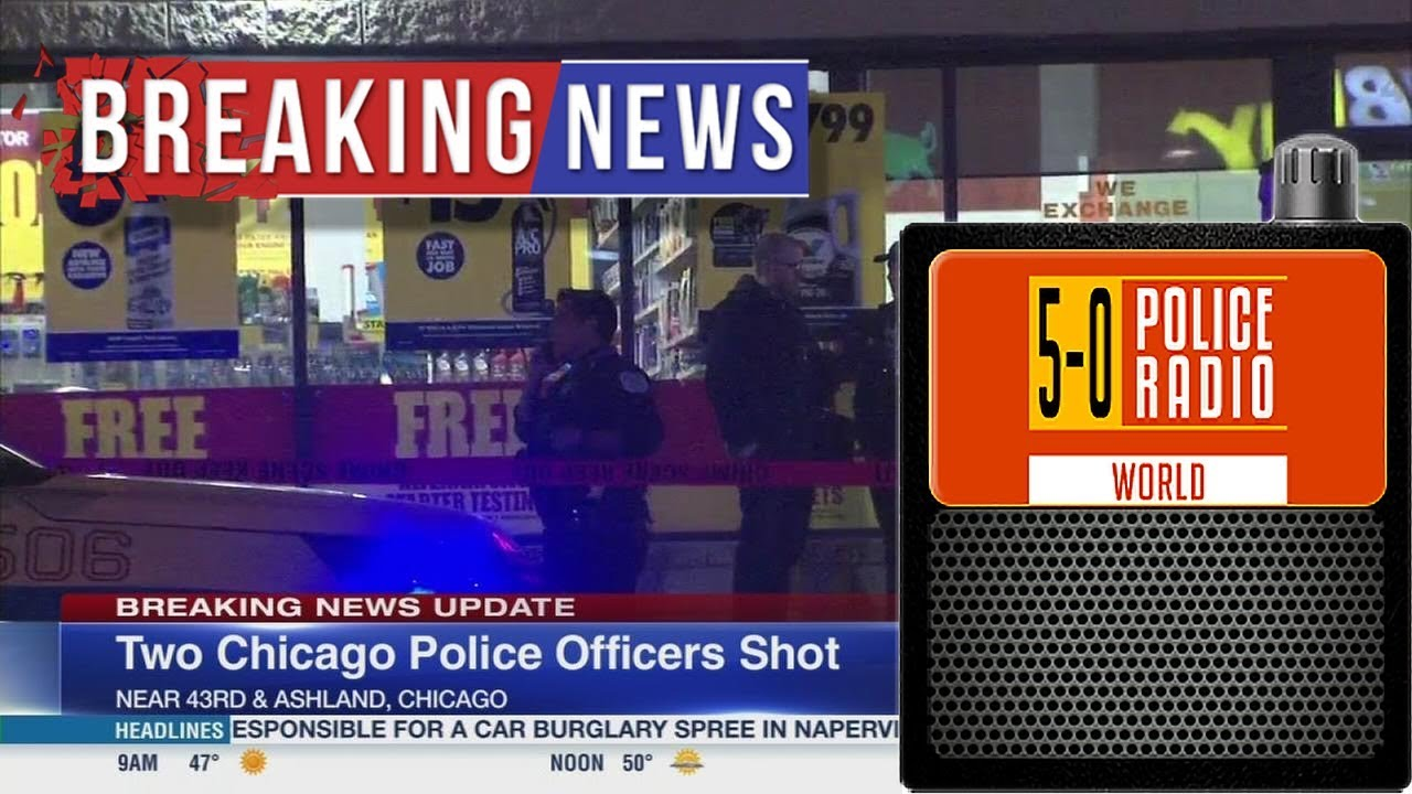 Chicago Police Radio Audio Recording Shots Fired | 2HRS Sat Jan 26
