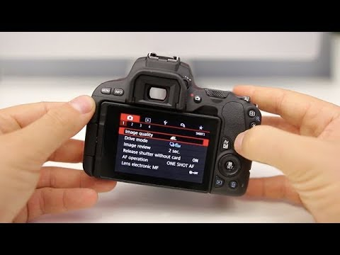 Canon SL2 (200D) Tutorial - Beginner's User Guide to the Buttons, Dials &  Settings