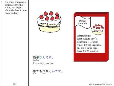 Unit 39 Easy Understanding Japanese : N-desu - YouTube