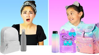 Back to School Switch up Challenge Sis vs Sis FALL Edition
