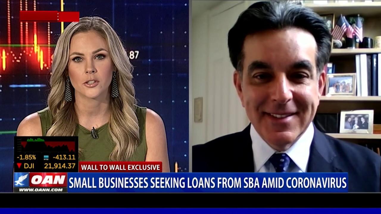 Wall to Wall: Former SBA Admin. Discusses Coronavirus Loans