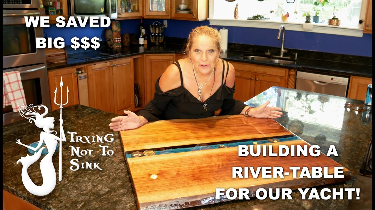 Saving big $$$ on our Boat Table!