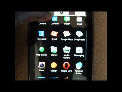 How to get YouTube on the  Motorola i1