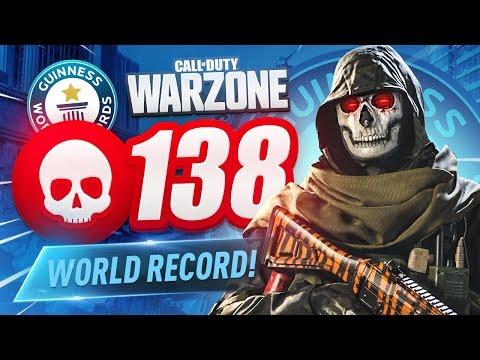 WORLD RECORD! 138 KILL GAME in CoD WARZONE! (35 SOLO KILLS)