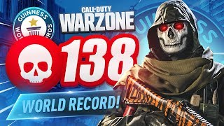 WORLD RECORD! 138 KILL GAME in CoD WARZONE! (35 SOLO KILLS)