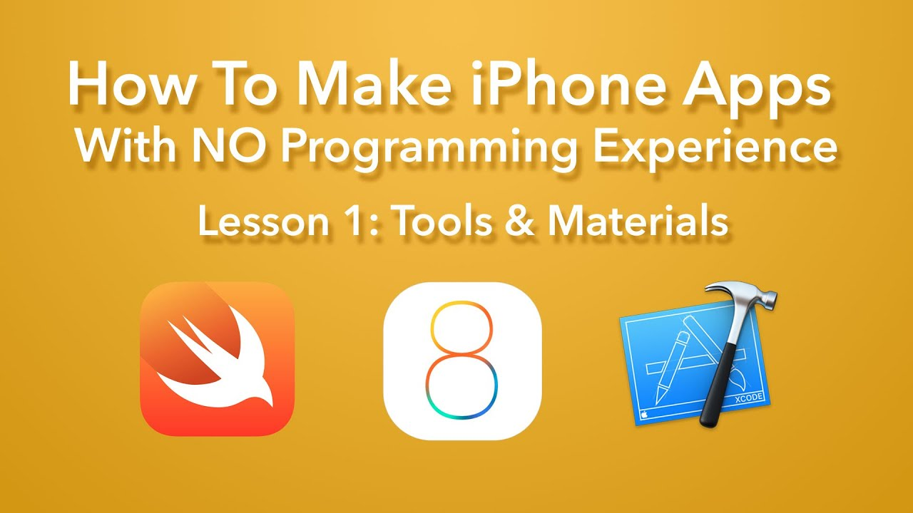 How To Make An App  Ep 1  Tools And Materials