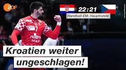Kroatien - Tschechien 22:21 - Highlights | Handball-EM 2020 - ZDF