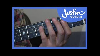 Major Scale Pattern 1 (Guitar Lesson  IM-113) How to play IF Stage 1