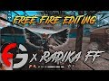INTRO FRONTAL GAMING x RADIKA FF - BLOODY TIDES FREE FIRE EDITING