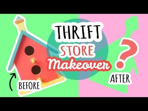Thrift Store Makeover #1
