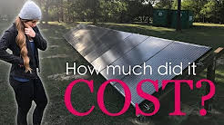 Total Cost Of Our Off Grid Solar System