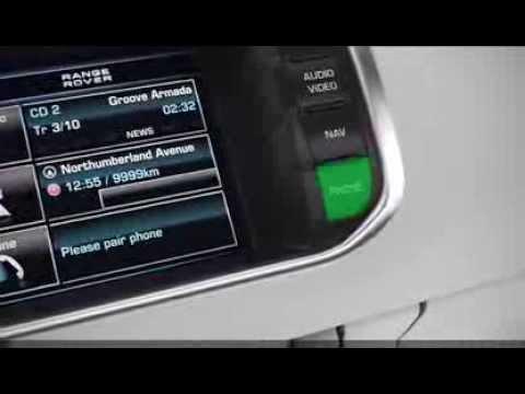 Range Rover Evoque Basic Phone Usage