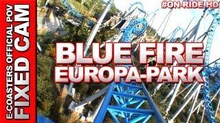 Blue Fire Mega Coaster - Europa Park | On-Ride (ECam HD)