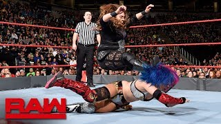 Asuka vs. Nia Jax: Raw, March 5, 2018