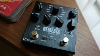 Source Audio Nemesis Delay, demo by Pete Thorn