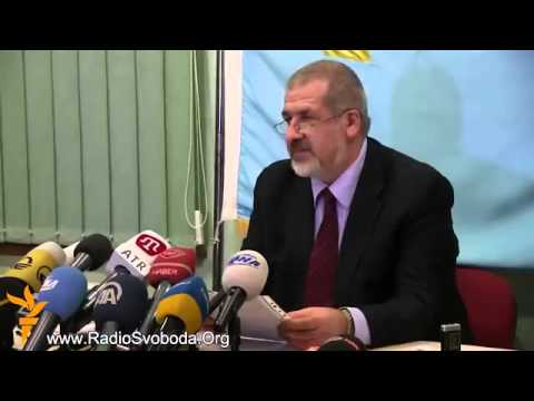 Tatar Leader Refat Chubarov Proves Fraud At Illegal Referendum In Occupied Crimea