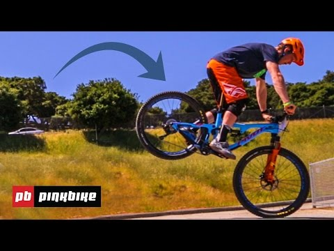 How To Stoppie A Mountain Bike With Bernard Kerr